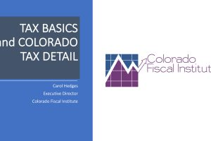 Download the Creating a Tax Structure that Works for Colorado Presentation