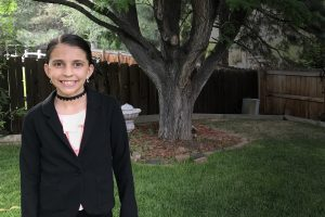 Chloe Garcia-Lewis, Powell Middle School, Littleton Public Schools
